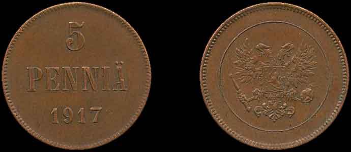 5 pennia bon bin